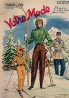 Votre Mode N°88 Chausson Que Vous Ferez Vous-même - Des Modèles Pratiques Pour Les Sportives - Veste Pour Grande Taille - 1900 - 1949