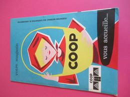 Fédération Nationale  Coopératives De Consommation/Votre Magasin COOP Vous Accueille/Chemise De Classement/1965  VPN172 - Autres Collections