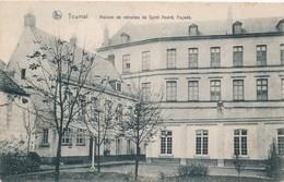 CPA - Belgique - Tournai - Maison De Retraites De Saint André, Façade - Tournai