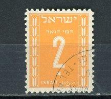 ISRAEL : -  T TAXE - N° Yvert 6 Obli - Impuestos