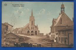 MALANCOURT    L'Eglise Et La Mairie   Animées - France