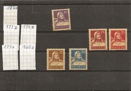 Schweiz, 1932, Tellen Geriffeltes Papier**, Einwandfrei, Kat Fr. 820.00, Siehe Scan! - Nuevos