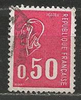 YT 1664 Marianne De Bequet (0,50) - Lot De 2000 Timbres Oblitérés - Timbres