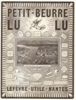 "PUB PETIT-BEURRE  "" LU  "" De LEFEVRE-UTILE    1923 ( 3 ) - Other"