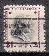 USA Precancel Vorausentwertung Preo, Locals Florida, Dunedin 703 - Precancels