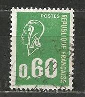 YT 1814 Marianne De Bequet (0,60) - Lot De 1000 Timbres Oblitérés - Timbres