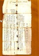 ACTE DE NAISSANCE 11 THERMIDOR AN 4 . Département De Seine Et Oise - Documents Historiques