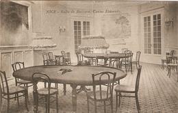 Cpa De Nice (06), Salle De Baccara, Casino Eldorado, éd. L. Camous à Marseille, Dos Vierge - Nice