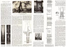 """Du PETROLE En AUVERGNE  """" LES SONDAGES De La LIMAGNE """" """" CROUELLE """"  1923 - Auvergne"""