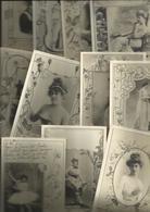 T.B. Lot N° 2 De 40 Cpa Fantaisies ( Voir Scann) Toutes Même Thèmes, (tous Frais En +  4,00 Euros - Cartes Postales