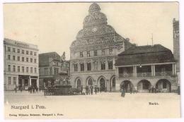 STARGARD SZCZECINSKI 1910 Markt - Pommern