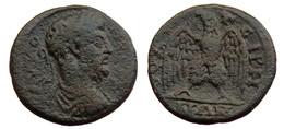 [H] +++ Commodus AE22 - THYATEIRA -- LYDIA -- Adler / Eagle +++ - Römische Münzen