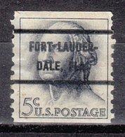 USA Precancel Vorausentwertung Preo, Bureau Florida, Fort Lauderdale 1229-72 - Estados Unidos