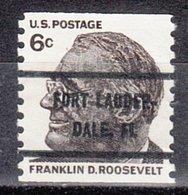 USA Precancel Vorausentwertung Preo, Bureau Florida, Fort Lauderdale 1305-82 - Vereinigte Staaten