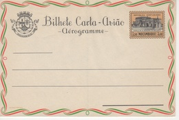 """Portugal Province Mozambique 1959 """"Chaple Of Our Lady"""", """"Ananas Fruit"""" Aerogramme, Air Letter. H&G F22 MINT IV - Mozambique"""