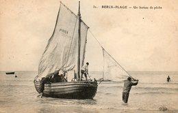BERK -PLAGE........bateau De Peche.... - Berck