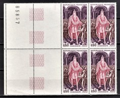 FRANCE 1966 - BLOC DE 4 TP / Y.T. N° 1497  - NEUFS** - Neufs