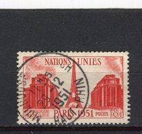 FRANCE - Y&T N° 911° - Nations Unies - Gebraucht