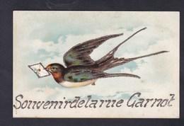 Souvenir De La Rue Carnot ( Cachet Départ Levallois Hirondelle Paillettes ) - Levallois Perret