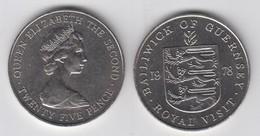 Guernsey 1978 Royal Visit - Crown Coin - Guernsey
