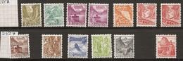 Schweiz, 1936, 201-209z + 215z,  242z,  13 Werte**, Kat. Fr. 145.00, Siehe Scan! - Unused Stamps