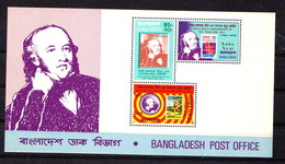BANGLADESH   1979    Death  Centenary  Of  Sir  Rowland  Hill   Sheetlet       MNH - Bangladesh