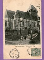 HUCQUELIERS - Eglise - 1906 - - Other Municipalities