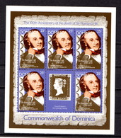DOMINICA   1979    Death  Centenary  Of  Sir  Rowland  Hill   4  Sheetlets       MNH - Dominica (1978-...)