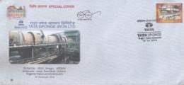 India  2019  Tata Sponge Iron Ltd.  Steel Industry  Keonjhar  Special Cover   # 17457  D  Inde Indien - Factories & Industries