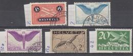 Schweiz, 1933 Flugpost Geriffeltes Papier, 5 Werte ,  Siehe Scan! - Switzerland