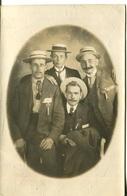 006729  5 Männer Mit Stempel XII. Deutsches Turnfest Leipzig 1913 - Leipzig