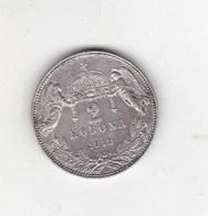 HUNGARY 2 Korona 1912  SILVER****655 - Ungheria