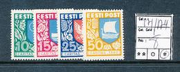 ESTONIA ESTONIE YVERT 171/174 CHARNIERE LH - Estonie
