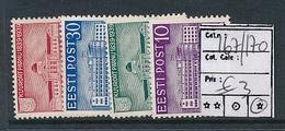 ESTONIA ESTONIE YVERT 167/170 CHARNIERE LH - Estonie