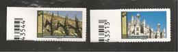 France, Autoadhésif, Adhésif, Pro, 2019, Château Chambord, Cathédrale Notre-Dame Strasbourg, Neuf **, TTB - France