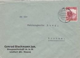 Brief Aus Lintfort 1935 - Briefe U. Dokumente
