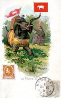 La Poste Au Siam - Poste & Facteurs