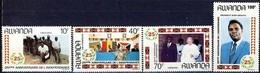 Rwanda Ruanda 1987 Yvertn° 1301-1304  *** MNH Cote 8,50 Euro 25e Anniversaire De L' Indépendance - 1980-89: Neufs