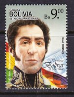 BOLIVIA, USED STAMP, OBLITERÉ, SELLO USADO - Bolivia