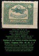 Luftfahrt - (Mi. Nr. 2) - Burak T. 2 KU - Teilgezähnt -RR- - 1921-... République