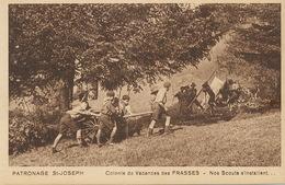 Scouts Colonie Vacances Frasses Jura Chateau Des Prés  Patronage St Joseph - Scouting