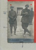 CARTOLINA NV ITALIA - CESARE BATTISTI E FABIO FILZI Prigionieri In Aldeno - 9 X 14 - Personaggi