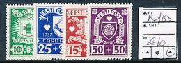 ESTONIA ESTONIE YVERT 150/153 CHARNIERE LH - Estonie