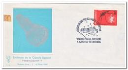 Argentinië 1962, Spacecraft John Glenn, ( See Backside ) - FDC