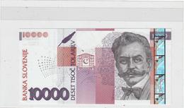 2003 SLOVENIJA 10000 SIT SLOVENSKIH TOLARJEV TOLAR SLOVENIA BANKNOTE UNC - Slovenia