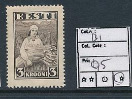 ESTONIA ESTONIE YVERT 131 LH - Estonie