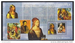 Congo 2006 Albrecht Dürer / Painter M/s PERFORATED ** Mnh (42039) - Democratische Republiek Congo (1997 - ...)