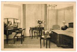 Brussel, Hotel Plaza Bruxelles, Une Chambre A Coucher (pk55455) - Cafés, Hotels, Restaurants