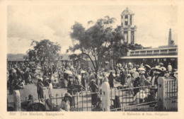 R176606 358. The Market. Bangalore. S. Mahadeo - Postcards