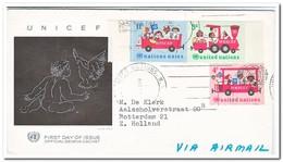 UNO New York, Letter To Holland - New York - Hoofdkwartier Van De VN